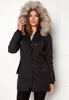 ONLY onliris parka cc otw black Bubbleroom.fi