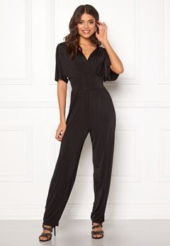 ONLY Iris S/S Jumpsuit Black Bubbleroom.fi
