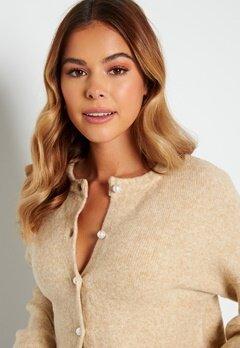 ONLY Isabella L/S Cardigan Knit Beige bubbleroom.fi