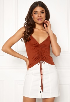 ONLY Isabella Strap Top Arabian Spice Bubbleroom.fi