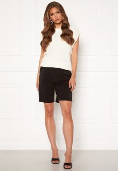 ONLY Ivy Tailored Long Shorts Black<br>  bubbleroom.fi