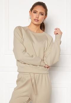 ONLY Joy L/S Raglan Sweater Silver Lining bubbleroom.fi
