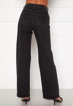 ONLY Juicy HW Black Wide Leg Jeans Black Denim Bubbleroom.fi