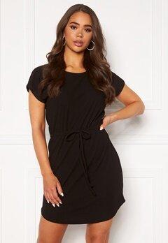 ONLY Julia S/S String Dress Black Bubbleroom.fi