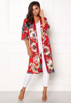 ONLY Kateherine Kimono Flame Scarlet Bubbleroom.fi