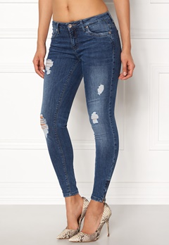 ONLY Kendell Reg Ankle Jeans Medium Blue Denim Bubbleroom.fi