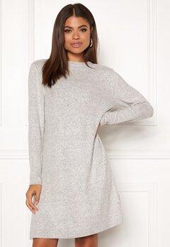 ONLY Kleo L/S Dress Knit Light Grey Melange Bubbleroom.fi