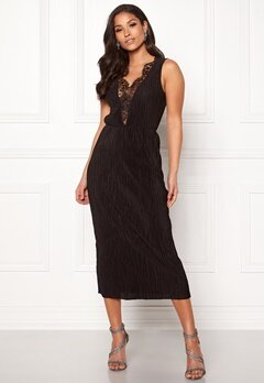 ONLY Lena S/L Lace Dress Black Bubbleroom.fi