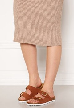 ONLY Madison Suede Slip On Rust Bubbleroom.fi