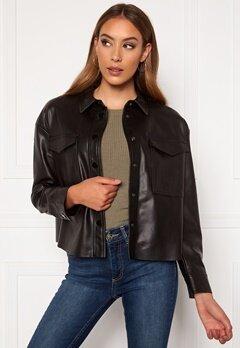 ONLY Marina Faux Jacket Black Bubbleroom.fi
