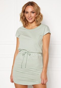 ONLY May Life S/S Dress Frosty Green/Stripes Bubbleroom.fi