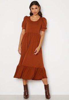 ONLY May Life S/S Puff Dress Arabian Spice Bubbleroom.fi