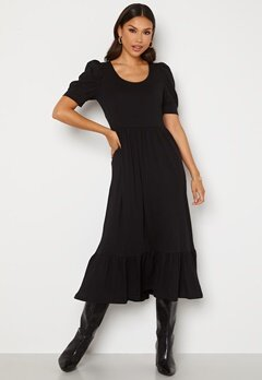 ONLY May Life S/S Puff Dress Black Bubbleroom.fi
