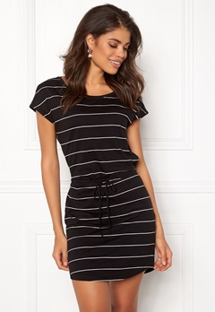 ONLY May S/S Dress Black Stripes Bubbleroom.fi