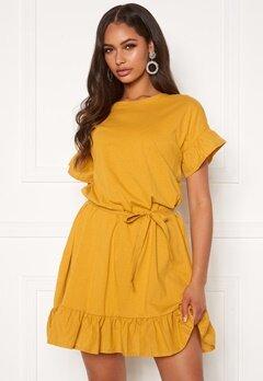 ONLY Mitza Life S/S Dress Golden Spice Bubbleroom.fi