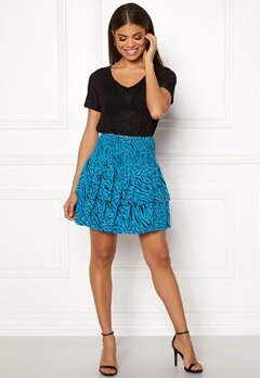ONLY Muni Mini Skirt Brilliant Blue Bubbleroom.fi
