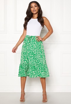 ONLY Nadja Skirt Simply Green Bubbleroom.fi
