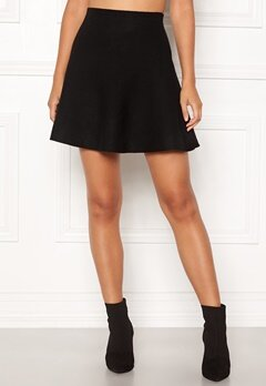 ONLY New Dallas Skirt Black Bubbleroom.fi