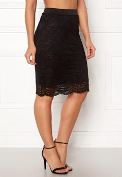 ONLY New Sierra Skirt Black Bubbleroom.fi
