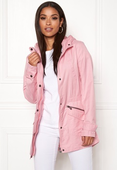 ONLY New Sophia Spring Parka Rose Smoke Bubbleroom.fi