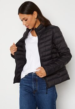 ONLY Newtahoe Quilted Jacket Black Bubbleroom.fi