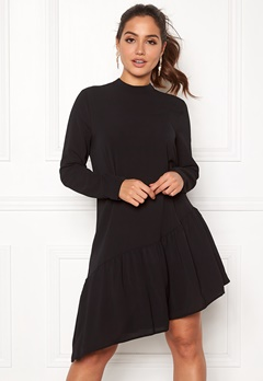 ONLY Nova Lux SolidElena Dress Black Bubbleroom.fi
