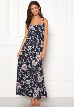 ONLY Nova Lux Strap Maxi Dress Night Sky Bubbleroom.fi