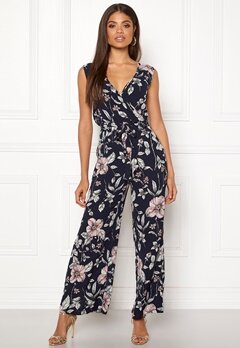 ONLY Nova Lux Wrap Jumpsuit Night Sky Bubbleroom.fi