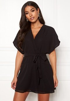 ONLY Paige Life SS Playsuit Black Bubbleroom.fi