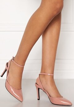 ONLY Peaches Pu Heeled Pump Black Bubbleroom.fi