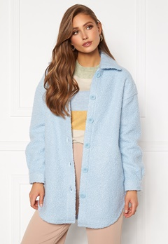 ONLY Piper Shacket Cashmere Blue bubbleroom.fi