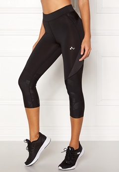 ONLY PLAY Delphine 3/4 Training Tights Black Bubbleroom.fi