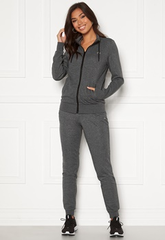 ONLY PLAY Elina Sweat Pant Dark Grey Melange Bubbleroom.fi