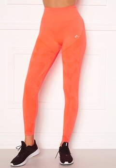 ONLY PLAY Jase Circular HW Tights Fiery Coral Bubbleroom.fi