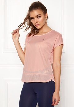 ONLY PLAY Jasmin Training Loose Tee Silver Pink Bubbleroom.fi