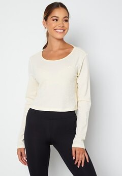 ONLY PLAY Jeo LS Wrap Top Whisper White bubbleroom.fi