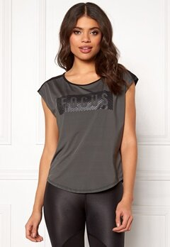 ONLY PLAY Lucilla SS Training Tee Dark Shadow Bubbleroom.fi