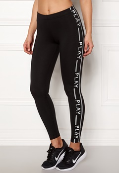 ONLY PLAY Luna Jersey Leggings Black Bubbleroom.fi