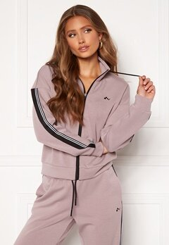ONLY PLAY Maxie LS Zip Sweat Elderberry Bubbleroom.fi