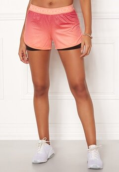 ONLY PLAY Melina AOP Shorts Neon Orange Bubbleroom.fi