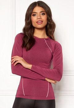 ONLY PLAY Stephanie Seamless Tee Rhododendron Bubbleroom.fi
