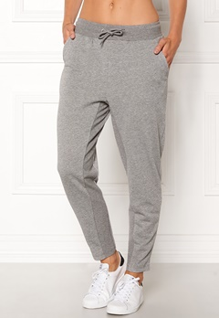 ONLY PLAY Zira glitter Sweat Pants Medium Grey silver Bubbleroom.fi