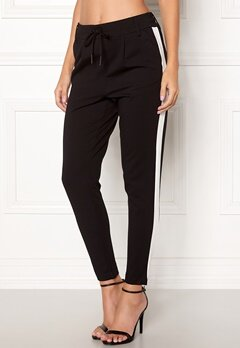ONLY Poptrash Easy Panel Pant Black Bubbleroom.fi