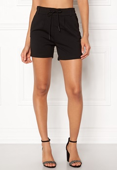 ONLY Poptrash Easy Shorts Black Bubbleroom.fi
