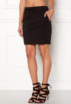 ONLY Poptrash Easy Skirt Black Bubbleroom.fi