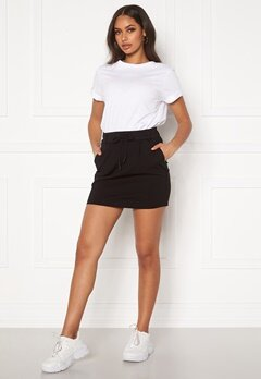 ONLY Poptrash Easy Skirt Black Bubbleroom.fi