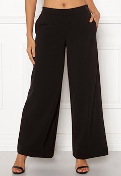 ONLY Roma Wide Leg Pants Black Bubbleroom.fi