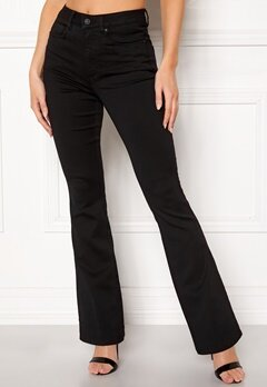 ONLY Royal High Flared Pants Black Bubbleroom.fi
