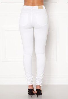 ONLY Royal HW Jeans White Bubbleroom.fi