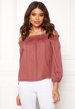 ONLY Samantha 3/4 Top Canyon Rose Bubbleroom.fi